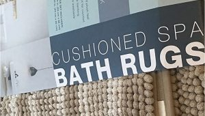 Town and Country Cushioned Spa Bath Rug town & Country Living Cushioned Spa Bath Rugs Brown