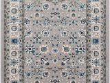 Traditional Blue area Rugs Kent Traditional Gray Sky Blue area Rug
