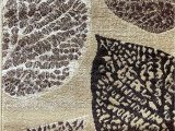 Tropical area Rugs 8 X 10 Tropical area Rug Floral Palm Leaf Beige Brown Tan Lifestyle 699 8 Feet X 10 Feet 6 Inch