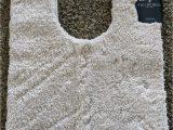 "Tufted Spa Bath Rug Fieldcrest Fieldcrest Spa Collection Contour Bath Rug Beige 20"" X 24"""