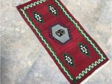 Turkish Rug Bath Mat Door Mat Kilim Rug Bath Mats Rugs Outdoor Rug Vintage Rug Turkish Rug Handmade Small Rug Red Kilim Rugs Mats Rugs 1'61''x3'25'' Ft