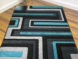 Turquoise and Black area Rug Pin by Kathleen Mcandrews On Turq Kitchen Items