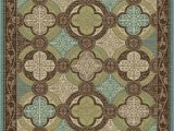 """Turquoise and Brown area Rug 8×10 Brookwood Bw Brown Turquoise Contemporary area Rug 7 10""""x9 10"""""""
