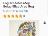 United States Map area Rug United States Rug Map