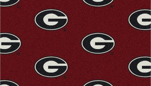 University Of Georgia area Rugs Amazon Georgia Bulldogs College Team Repeat 5×7 Rug