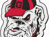 University Of Georgia area Rugs Fanmats 8317 Ncaa University Of Georgia Bulldogs Nylon Face Mascot Rug Team Color Approx 3 Ft X 4 Ft