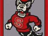 University Of Georgia area Rugs north Carolina State University Team Spirit Rug