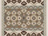 """Veranda Collection Bath Rugs Safavieh Veranda Collection Ver093 0212 Indoor Outdoor Cream and Chocolate Contemporary area Rug 2 7"""" X 5 Walmart"""