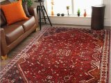 Vintage area Rugs for Sale Open Afghan Red Vintage Antique area Rug and Carpet