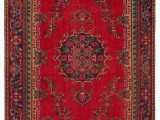 """Vintage area Rugs for Sale Turkish Vintage area Rug 6 3"""" X 10 75 In X 120 In"""