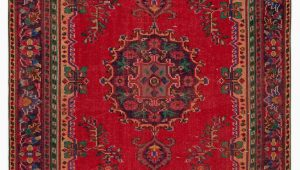 "Vintage area Rugs for Sale Turkish Vintage area Rug 6 3"" X 10 75 In X 120 In"