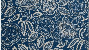 Walmart area Rugs Better Homes and Gardens Better Homes & Gardens Midnight Blooms Indoor Outdoor area Rug Multiple Sizes