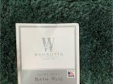 Wamsutta Bath Rug Sets Wamsutta Ultra soft 24 Inch X 60 Inch Bath Rug In Pine Free Shipping