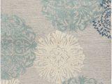 Wayfair Blue Gray Rug Rizzy Rugs Etta Light Gray & Blue Floral area Rug