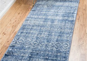 Wayfair Blue Runner Rugs theia Blue Ivory Rug