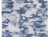 Wayfair Hillsby orange Navy area Rug Mintford Hand Knotted Blue area Rug