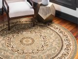 Wayfair Large Round area Rugs Light Green 8 X 8 Classic Aubusson Round Rug Affiliate