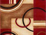 Wayfair Large Round area Rugs Zipcode Design™ Daniel Geometric Red area Rug & Reviews