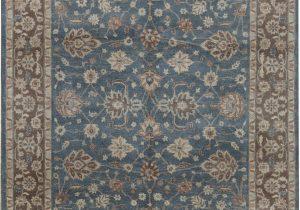 Wayfair Rugs 8×10 Blue Cornwall oriental Hand Knotted 8 X 10 Wool Blue Brown area Rug