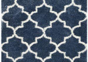 Wayfair Rugs Blue and White Bingham Blue White area Rug