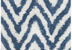 Wayfair Rugs Blue and White Davey Hand Tufted Ivory Blue White area Rug