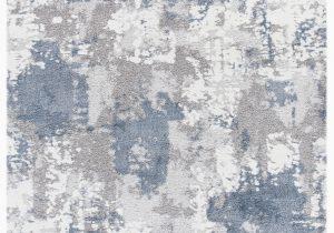 Wayfair Rugs Blue and White Erdenheim Power Loom Gray Blue White Rug