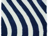 Wayfair Rugs Blue and White Rothsville Navy Blue White Rug