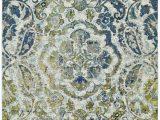 Wayfair Rugs Blue Green Anabranch Paisley Green Blue Yellow Cream area Rug