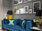 What Color Rug with Blue Couch 15 Stunning Living Room Ideas with A Blue sofa for Unique Decor