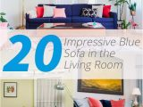 What Color Rug with Blue Couch 20 Impressive Blue sofa In the Living Room