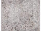 White area Rug with Grey Alvina Geometric Gray White area Rug