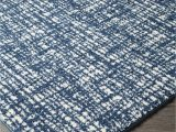 White Rug with Blue Blue and White Rug Aline Art