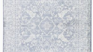 White Rug with Blue Jaipur Living Serena Lumineer Srn03 Blue White area Rug