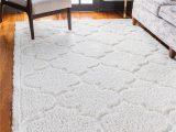 White Shag area Rug 8×10 Ivory 8 X 10 Lattice Shag Rug Rugs