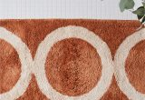 Wine Colored Bath Rugs Morrow Modern Abstract Bath Mat Runner 2 Colors On Food52
