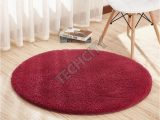 Wine Colored Bath Rugs Red Wine Color Home Berber Fleece Round Carpets Rugs