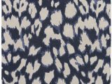 Wool Animal Print area Rugs A Contemporary Take On Animal Print This Dark Navy Wool and