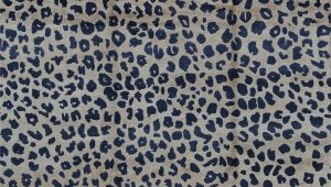 Wool Animal Print area Rugs Animal Print Hand Knotted Wool Beige Navy area Rug