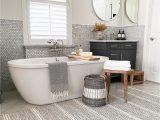 Wool Rug In Bathroom Malta Grey Woven Wool Rug Dash & Albert In 2020