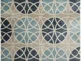 World Rug Gallery Modern Circles area Rug World Rug Gallery Vista Modern Geometric Circles Rug