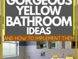 Yellow and White Bathroom Rug 17 Gorgeous Yellow Bathroom Ideas [and How to Implement them