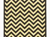 Yellow and White Striped area Rug Bruns Chevron Black area Rug