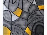 Yellow Grey Black area Rug Masada Rugs Modern Contemporary area Rug Yellow Grey Black 5 Feet X 7 Feet