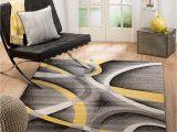 Yellow Grey Black area Rug Summit Bk Pqjb L1sz 21 New Yellow Grey area Rug Modern Abstract Many 7 4 X10 6