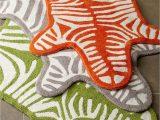 Zebra Print Bath Rug Jonathan Adler Zebra Bath Rug